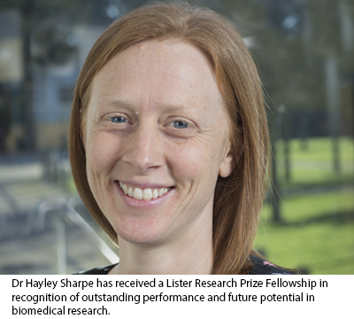 Hayley Sharpe, 2020 Lister Prize Fellow