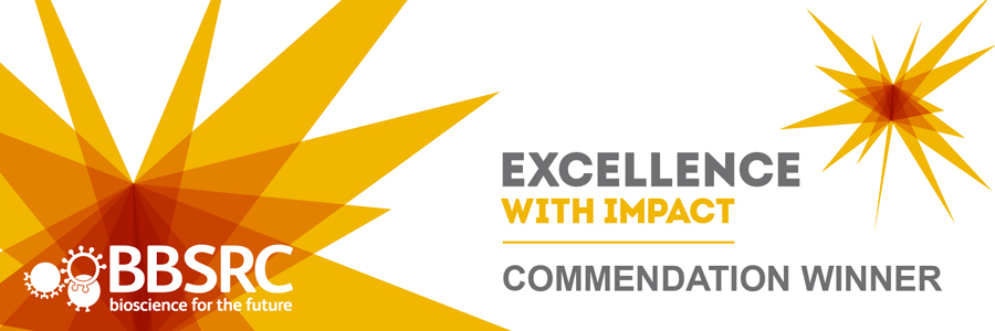 Institute commended at BBSRC Excellence with Impact competition