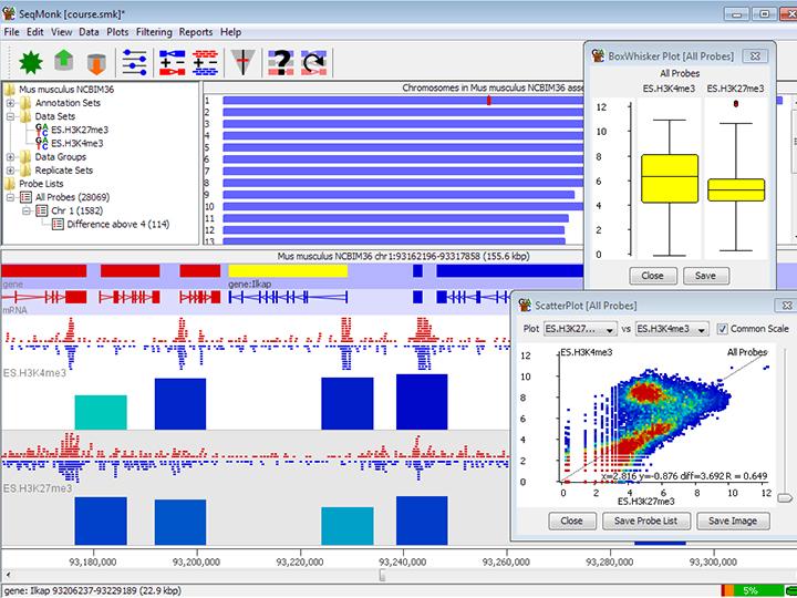 Bioinformatics screenshot