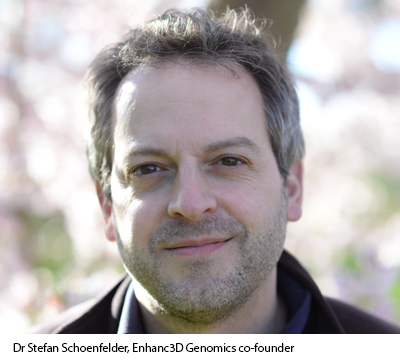 Dr Stefan Schoenfelder, Enhanc3D Genomics co-founder