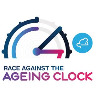 Ageing clock logo