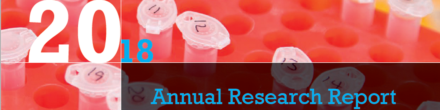 Cover image Annual Research Report 2018